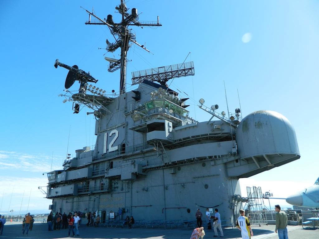 Naval Air Station Alameda, USS Hornet Museum | 277 Days of Sun